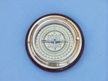 Load image into Gallery viewer, Brass Directional Desktop Compass 6""