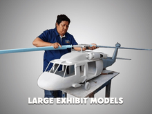 Load image into Gallery viewer, B&W  Boeing Model Custom Made for you