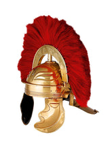 Load image into Gallery viewer, Roman Officer Centurion Historical Helmet Armor Red Plume