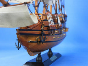 Wooden Spanish Galleon Tall Model Ship 20""