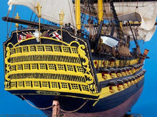 Load image into Gallery viewer, HMS Victory Limited Tall Model Ship 38""