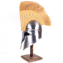 Load image into Gallery viewer, Armor Helmet Corinthian with Plume