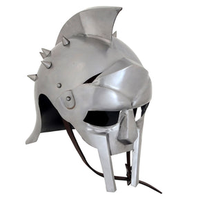 Armor Helmet Gladiator w/ Liner & Chin-Strap and cotton liner