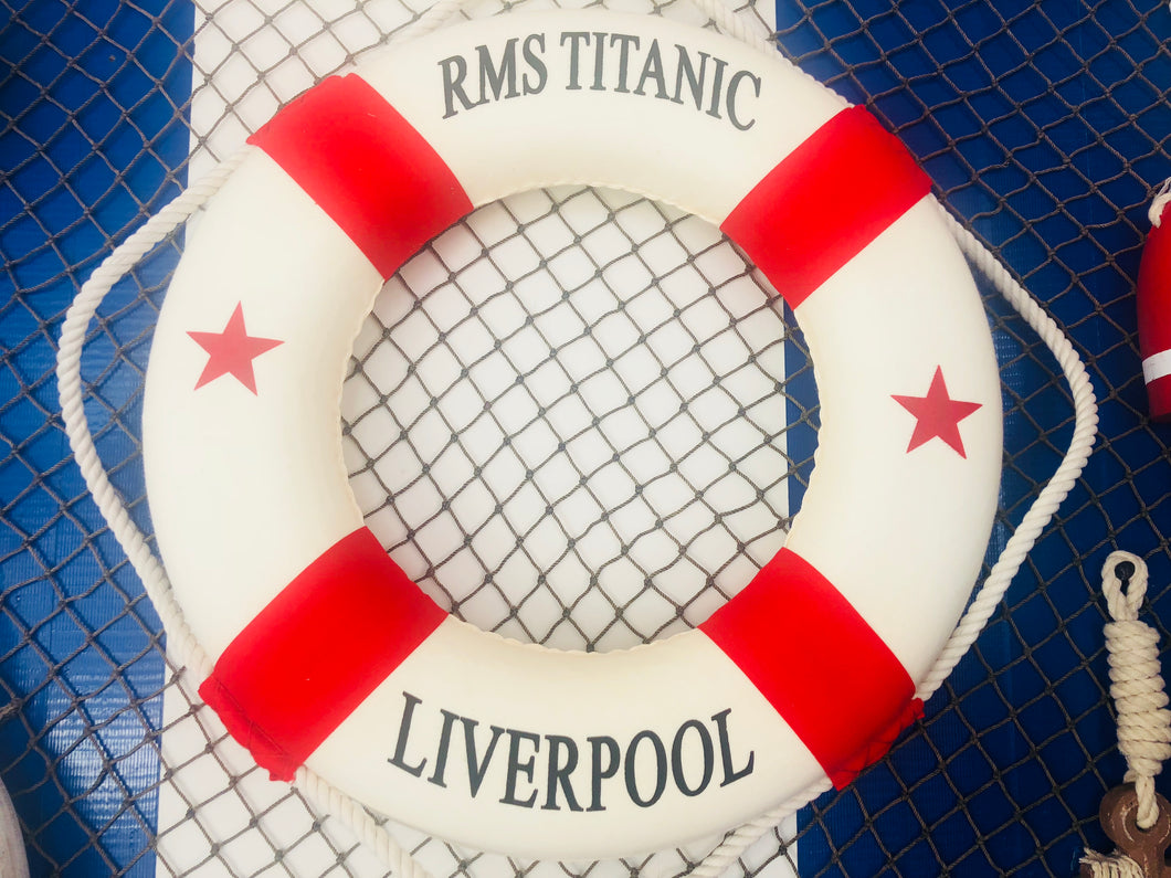 RMS Titanic Decorative Lifering 20