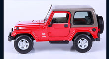 Load image into Gallery viewer, 1:18 Scale Jeep Wrangler Sahara
