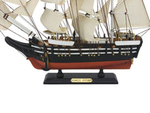 Load image into Gallery viewer, Wooden Charles W. Morgan Model Whaling Boat 15""