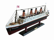 Load image into Gallery viewer, RMS Titanic Model Cruise Ship 32""