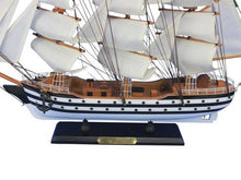 "Load image into Gallery viewer, Wooden Amerigo Vespucci 24"""" Tall Model Ship"