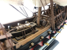 Load image into Gallery viewer, Wooden Calico Jack's The William White Sails Limited Model Pirate Ship 26""