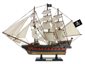 Wooden Calico Jack's The William White Sails Limited Model Pirate Ship 26""