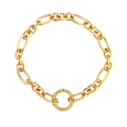 Gold Links of Love Bracelet