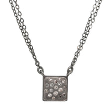Load image into Gallery viewer, Petite Chocolate Daimond Pendant Necklace