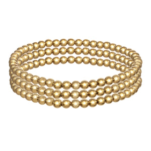 14k Gold Filled set of 3 bracelets
