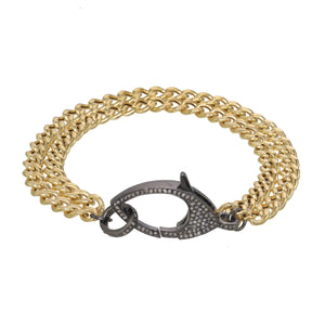 Chain Reaction Diamond Bracelet