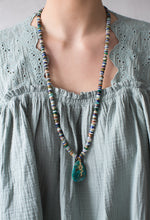 Load image into Gallery viewer, Turquoise Medley and Serpent Necklace