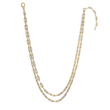 Load image into Gallery viewer, Gold Link Best Selling Paperclip Necklace