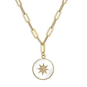 Pendant Gold Chain Necklace