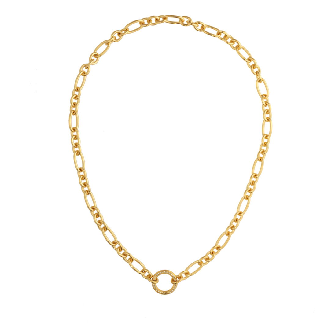 Gorgeous Gold Link Necklace