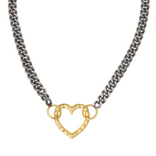 Load image into Gallery viewer, Open Heart Diamond Necklace