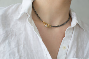 Peek-A-Boo Pearl Necklace