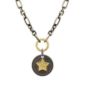 Star Pendant Diamond Necklace