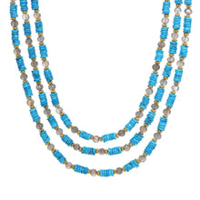 Load image into Gallery viewer, Turquoise Treasure Necklace
