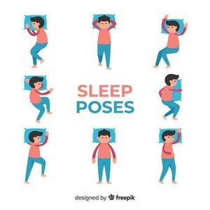What does the way you sleep do to your body? Sleeping positions explained.
