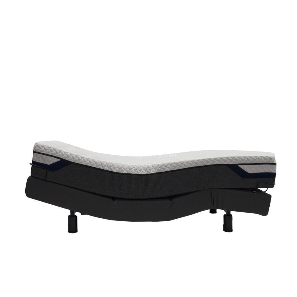 Reverie 3eT Adjustable Bed Base with Skirt & Silver Mattress - NDIS Eligible
