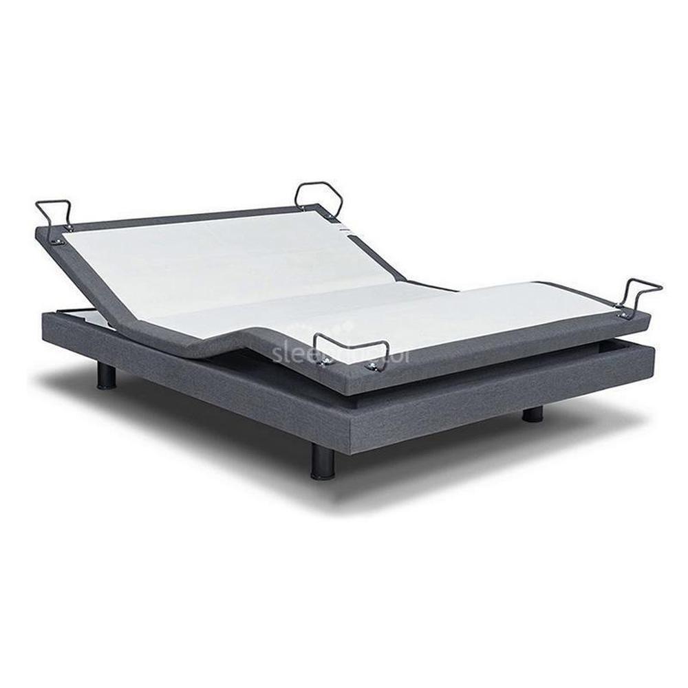 Reverie 7s Adjustable Bed Base with Skirt & Platinum Mattress - NDIS Eligible