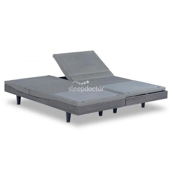 Reverie 9T Adjustable Bed Base with Skirt & Basic Mattress - NDIS Eligible