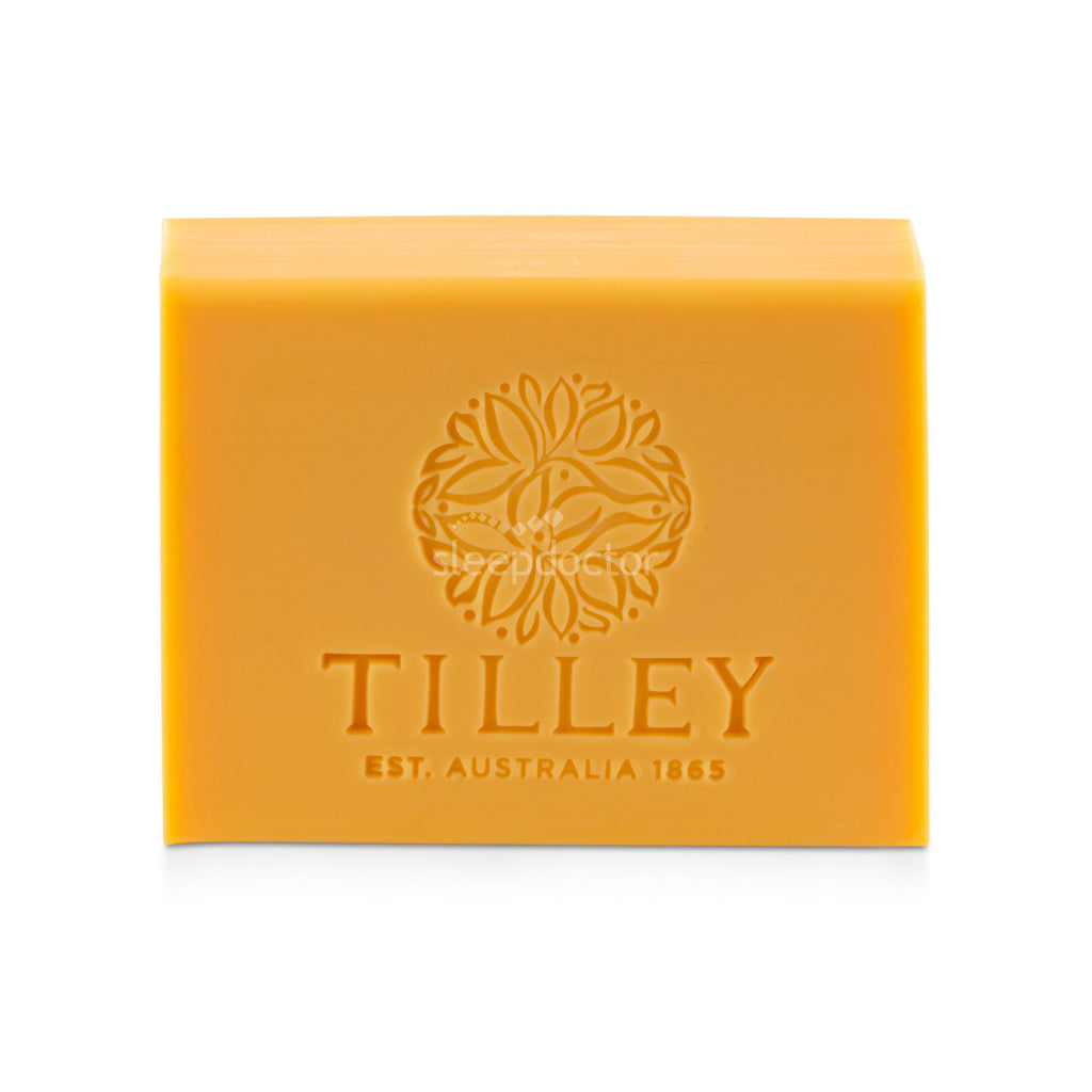 Tilley Soaps Australia Tahitian Frangipani Pure Vegetable Soap 100g Bar