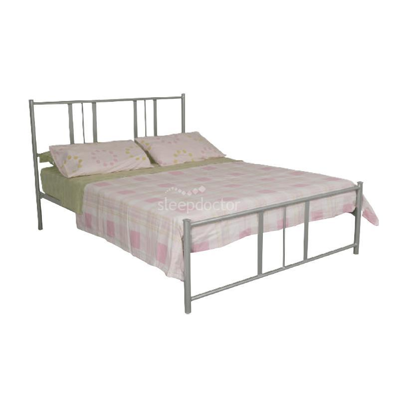 Viva Bed Metal Timber Slats Australian Made 5 Years Warranty