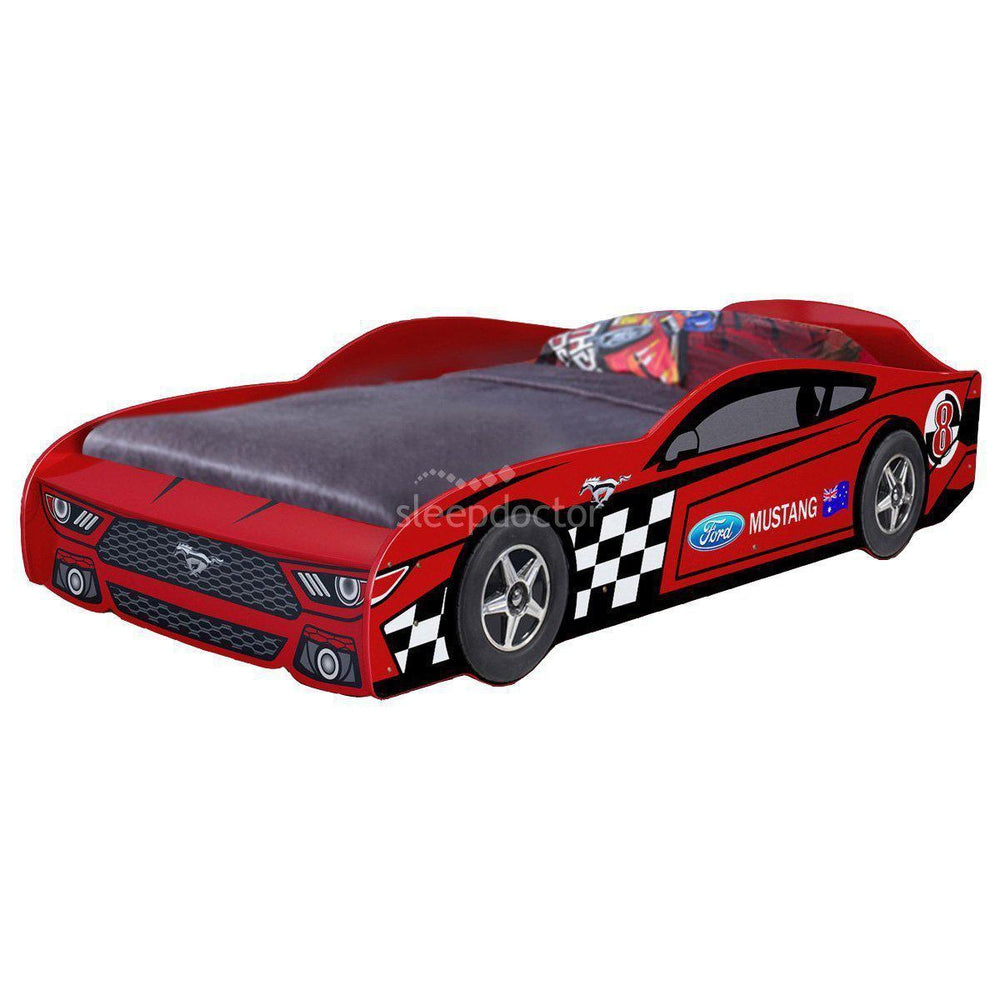 Z8 Mustang Car Bed with Decals