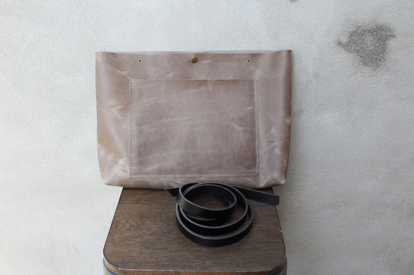 The JOSIE Tote - slate grey