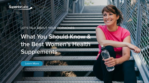 Let's talk about your hormones: What you should know & the best Women's Health Supplements