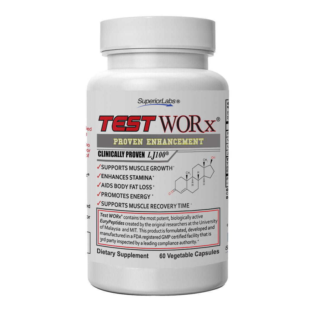 TestWORx® Best Selling Natural T Booster.
