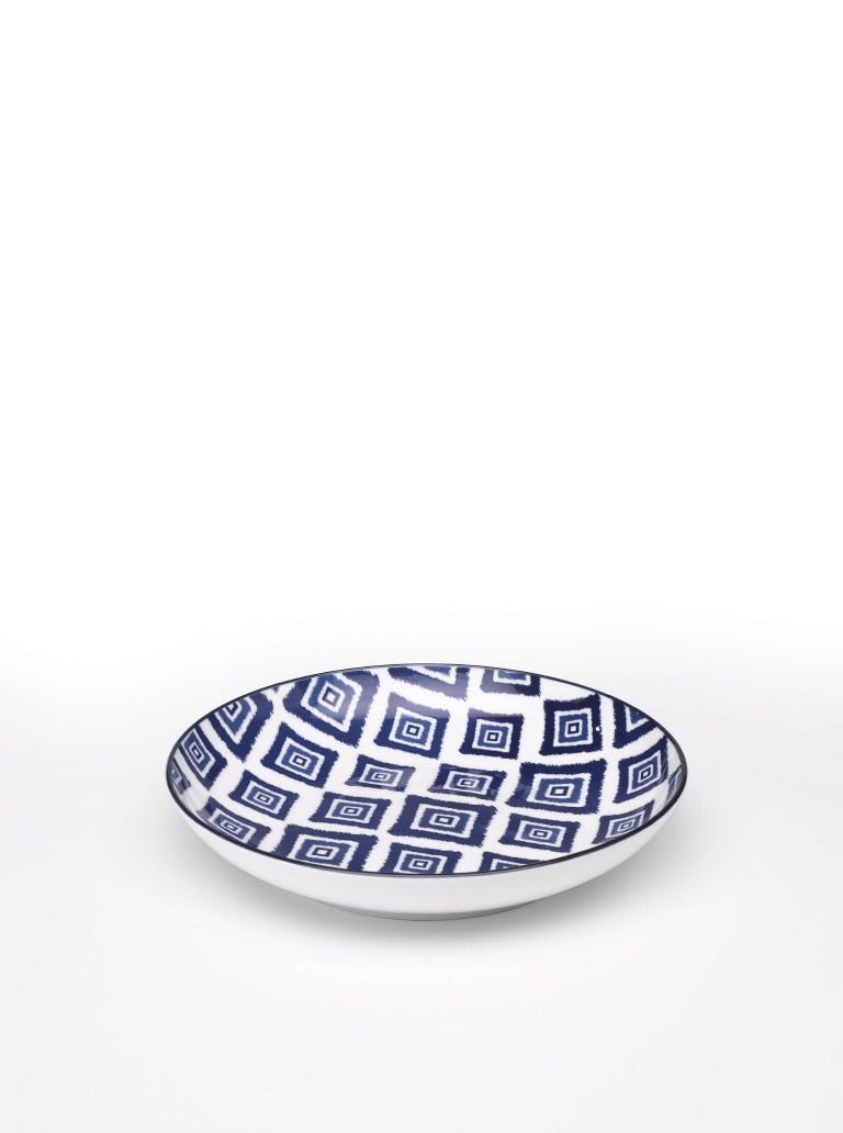 Rhapsody in Blue Deep Plate Rhombus