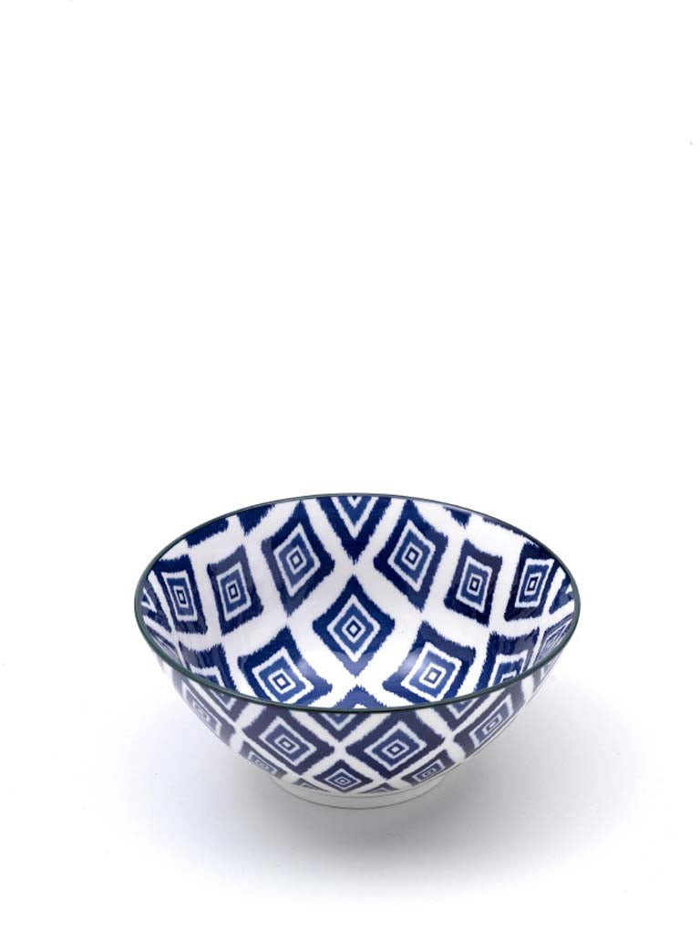Rhapsody in Blue Medium Bowl