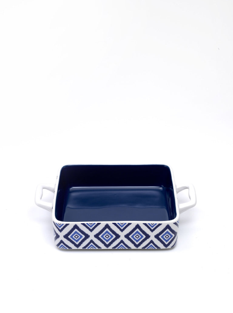 Rhapsody in Blue Baking Dish Square