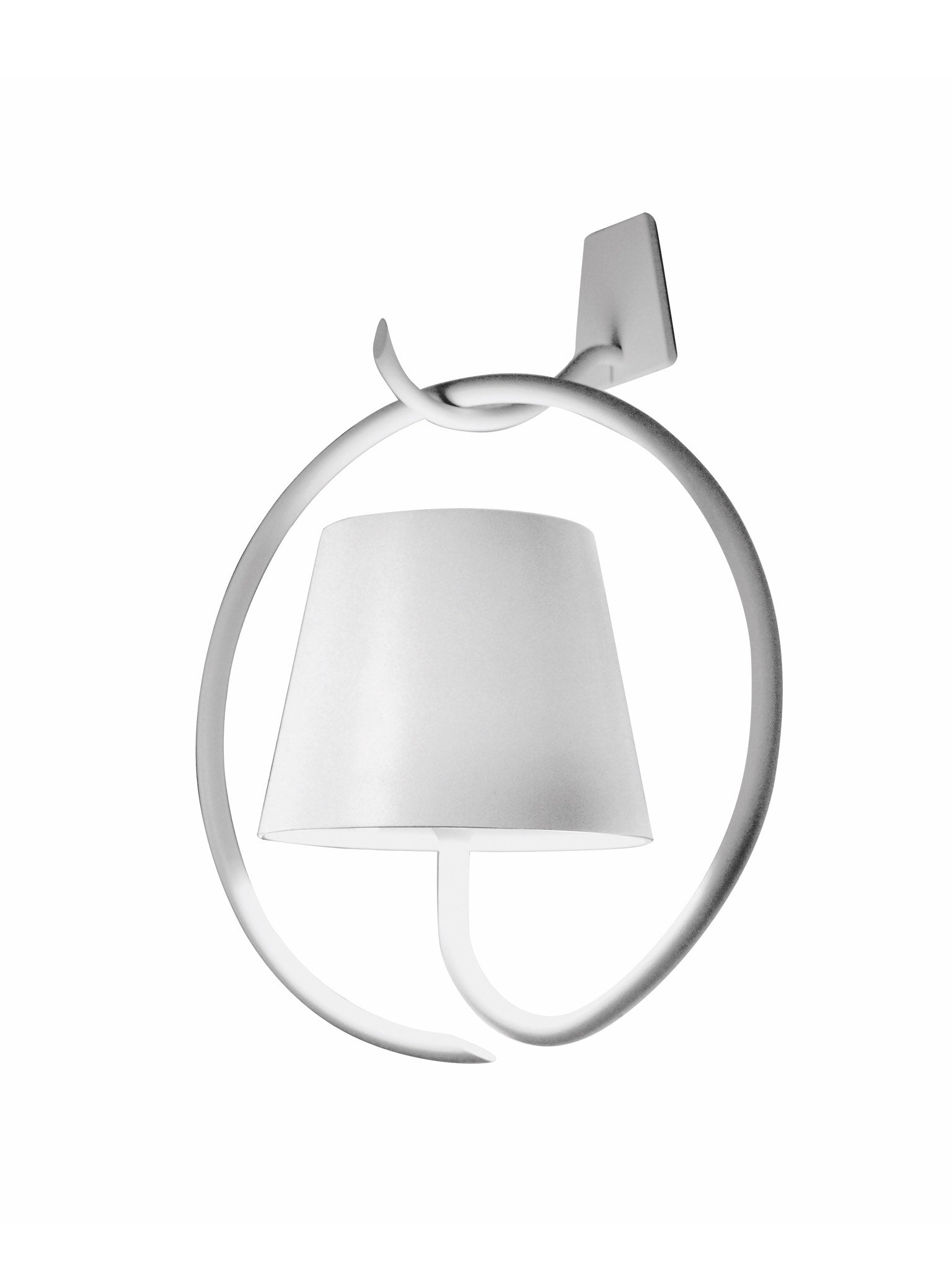 Poldina Wall Lamp W Bracket Zafferano America