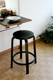 64 Stool - Black Lacquer
