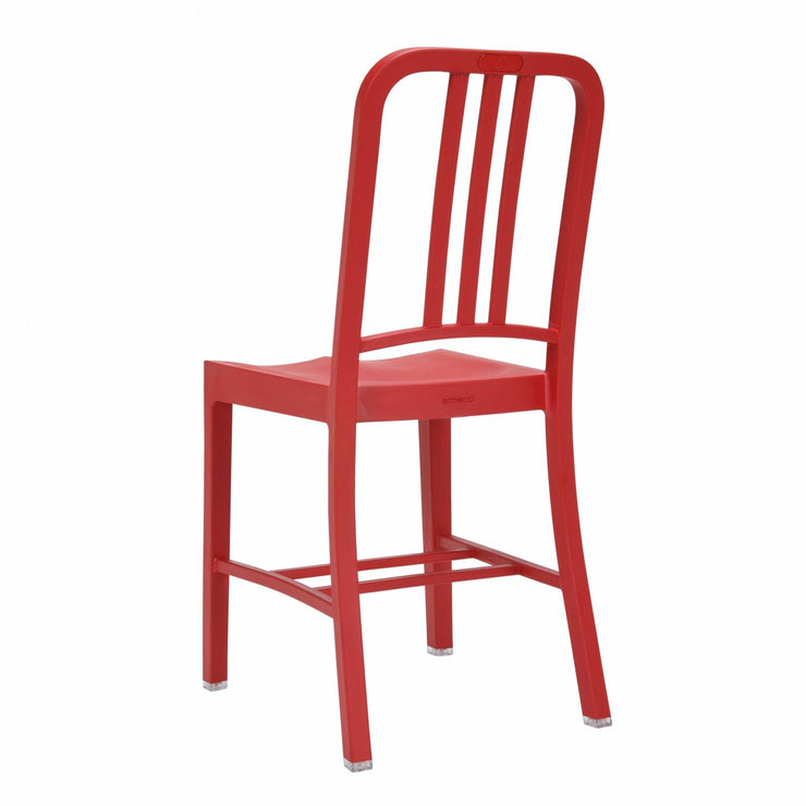 111 Navy Chair - Red