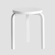 60 Stool - White Lacquer