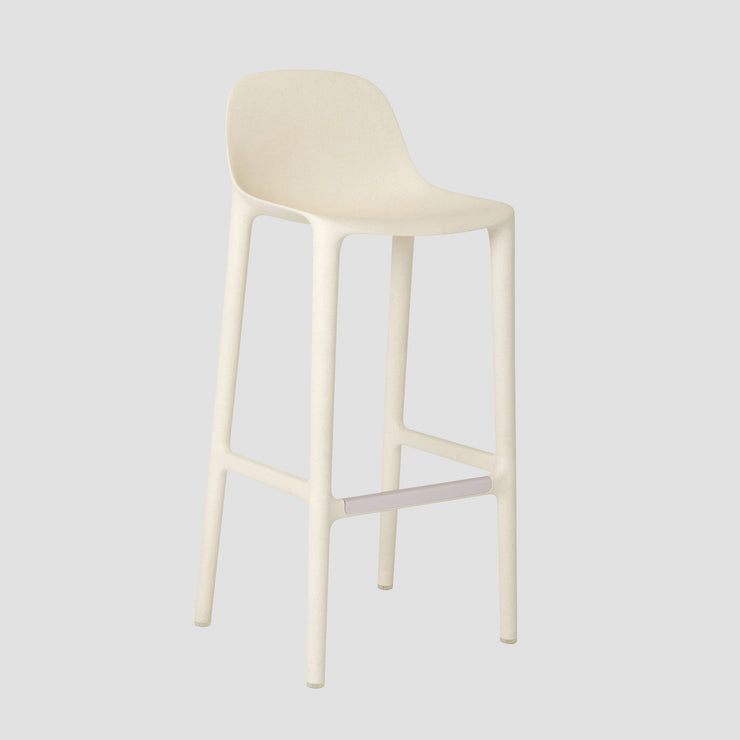 Broom Stool - White