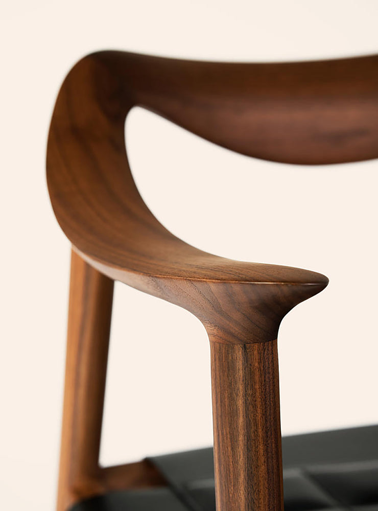 Bambi 57 Dining Chair - Walnut