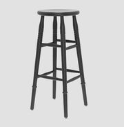Duchamp High Stool - Black