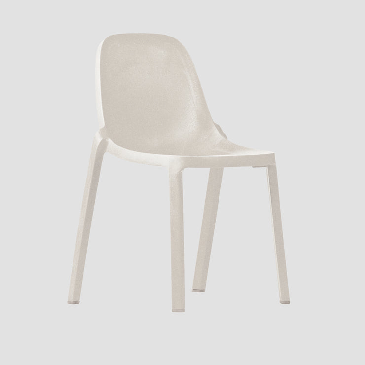 Broom Chair - White