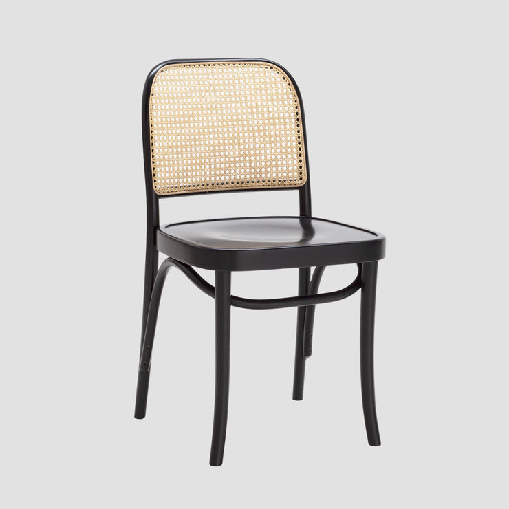 Josef Cane Chair - Black Stain