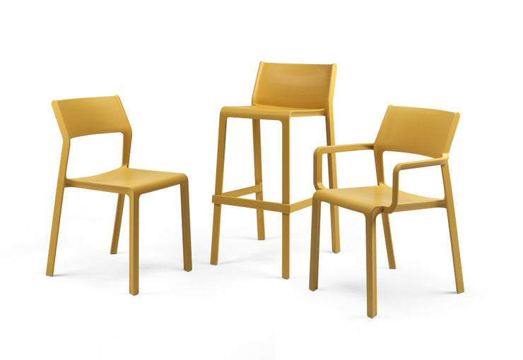 Trill Side Chair - Mustard