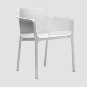 Net Armchair - White
